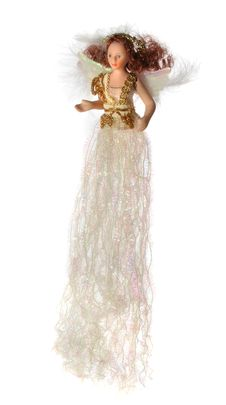 Sparkling Angel Doll Royalty Free Stock Image