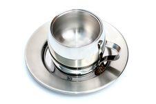 Free Empty Steel Cup Stock Photos - 4207813