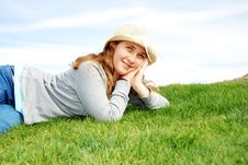 Free Young Girl Stock Photography - 4208082