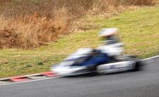 Free Speeding Kart Stock Photo - 4208690