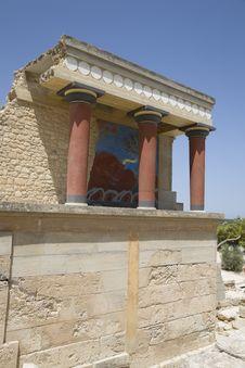 Free Knossos Palace Stock Image - 4208771