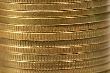 Free Coins Stack Royalty Free Stock Images - 4209519