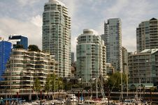 Free Vancouver City Waterfront Royalty Free Stock Image - 42076666