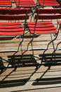 Free Red Chairs Stock Photography - 4213042