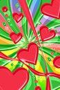 Free Hearts Stock Image - 4216701
