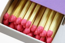Free Box Of Matches Stock Photos - 4210053