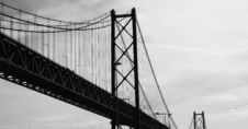 Free Bridge In Lisbon, Portugal Royalty Free Stock Images - 4210869