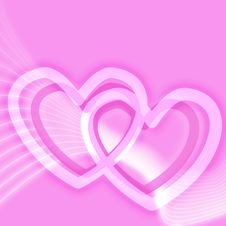Free Pink Valentines Day Background Stock Image - 4211151