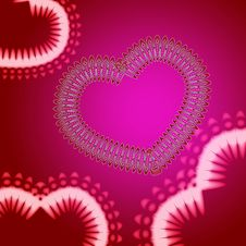 Free Pink And Red Loving Valentine S Day Royalty Free Stock Images - 4211479