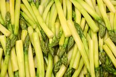 Free Freshly Cooked Asparagus Spears Stock Image - 4211651
