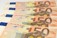 European Currency Royalty Free Stock Images