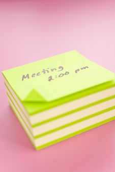 Free Sticky Notes Stock Photos - 4212003