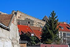 Free Old Town S Outskirts In Sunny Day Stock Images - 4212184