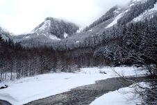 Free Mountain Stream Royalty Free Stock Image - 4212386