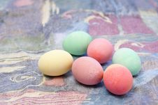 Free Colorful Easter Eggs Royalty Free Stock Photo - 4212435