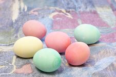 Free Colorful Easter Eggs Royalty Free Stock Image - 4212436