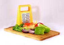Free Preparing Salad Stock Photography - 4212472
