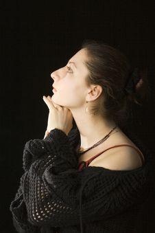 Free Woman Portrait Stock Image - 4212691