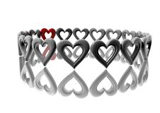 Free 3D-Hearts Royalty Free Stock Photos - 4213078