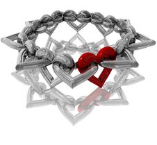 Free 3D-Hearts Stock Photography - 4213092