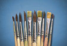 Free Brushes Stock Photo - 4213470