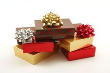 Free Christmas Packages Stock Image - 4214311