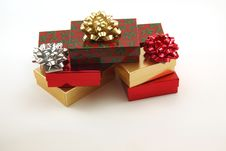 Free Christmas Packages Stock Photo - 4214320