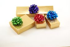 Free Christmas Packages Stock Photo - 4214330