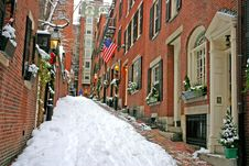 Free Boston Winter Stock Photos - 4214503
