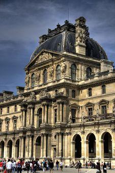 Free Louvre Museum In Paris Stock Photo - 4215180