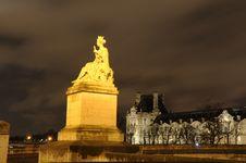 Free Paris By Night Royalty Free Stock Photos - 4216078
