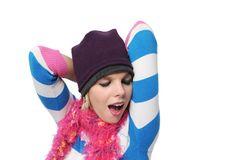 Free Beautiful Winter Girl Stock Photo - 4216140