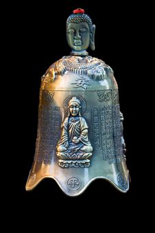 Buddha Bell Stock Photo