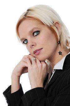 Free Businesswoman S Portrait Stock Image - 4216191