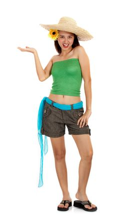 Beautiful And Fit Young Female Stock Photos