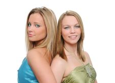 Free Teen Sisters Royalty Free Stock Photography - 4216497