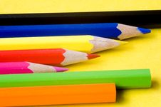 Free Color Pencils Stock Image - 4217071