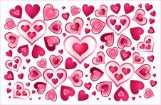 Free Hearts Royalty Free Stock Photos - 4218228