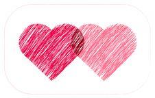 Free Two Hearts Stock Photo - 4218310