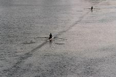 Free Rowers Stock Image - 4218361
