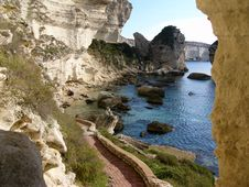 Free Cliffs - Bonifacio Royalty Free Stock Images - 4218549