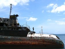 Free Shipwreck Stock Image - 4218621
