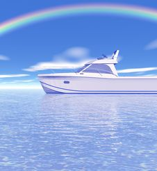 Free Beautiful Rainbow Stock Photos - 4218683