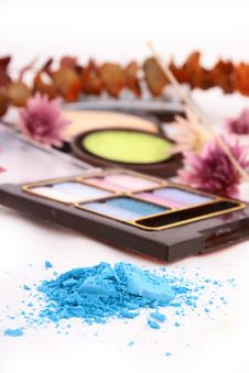 Free A Colorful Make-up Royalty Free Stock Photos - 4218758