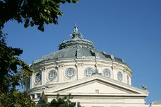 Romanian Athenaeum Royalty Free Stock Photo