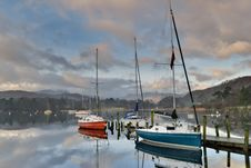 Free Boats On Windermere Stock Image - 4218961