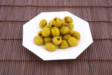 Free Olives Royalty Free Stock Photography - 4219107