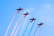 Free Airshow Royalty Free Stock Photo - 4219135