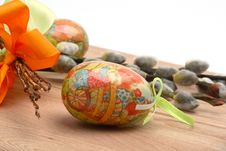 Free Easter Still-life With Eggs Stock Photos - 4219373