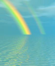 Beautiful Rainbow Stock Photos